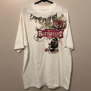 Reebok Tampa Bay Buccaneers T-Shirt Size XL